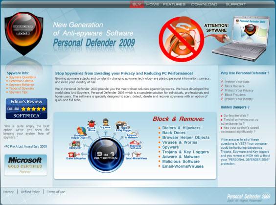 Personal Defender 2009 - Guida alla rimozione Person10
