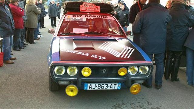 Rallye Monté carlo historique  17bleu14