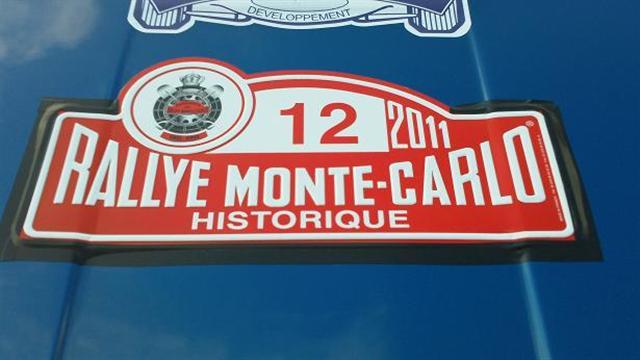 Rallye Monté carlo historique  Plaque10
