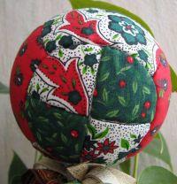 Boule de Noël façon patchwork  ( 2 ème façon ) _boule14