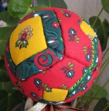 Boule de Noël façon patchwork  ( 2 ème façon ) _boule15