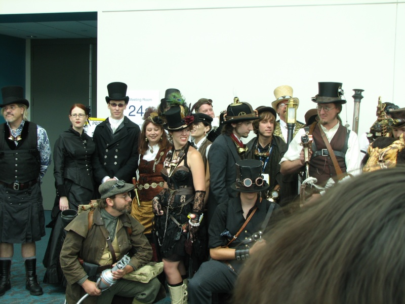 Steampunk photographs and art 2007-217
