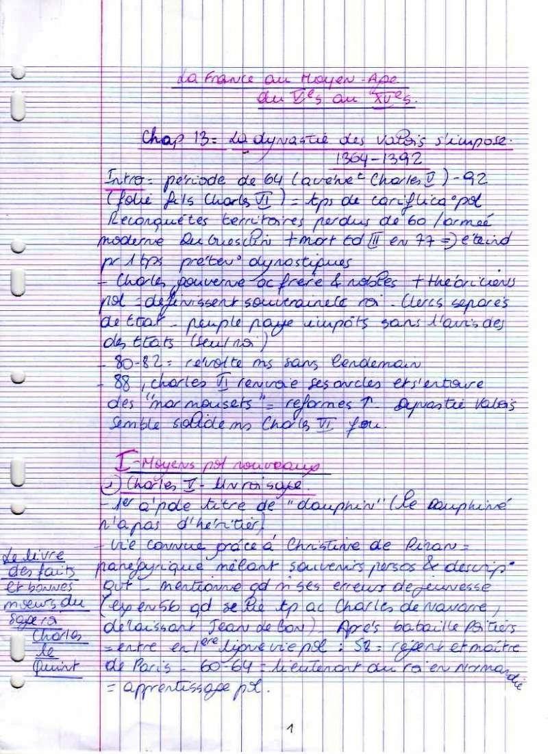 Marie: La france au MÂ - Gauvard chap 13 111