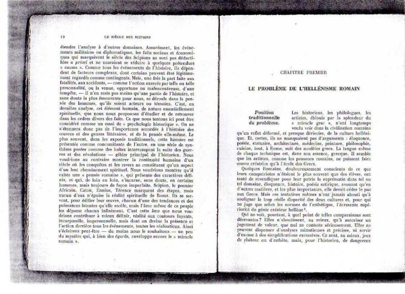 fiches de lilas sur le siecle des scipions + scan du livre 112