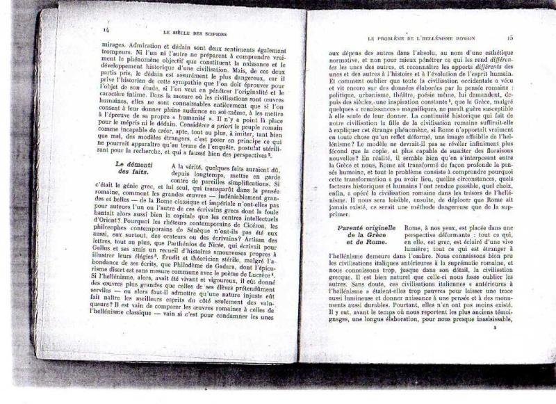 fiches de lilas sur le siecle des scipions + scan du livre 212