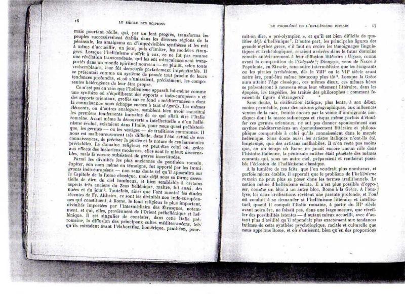 fiches de lilas sur le siecle des scipions + scan du livre 312