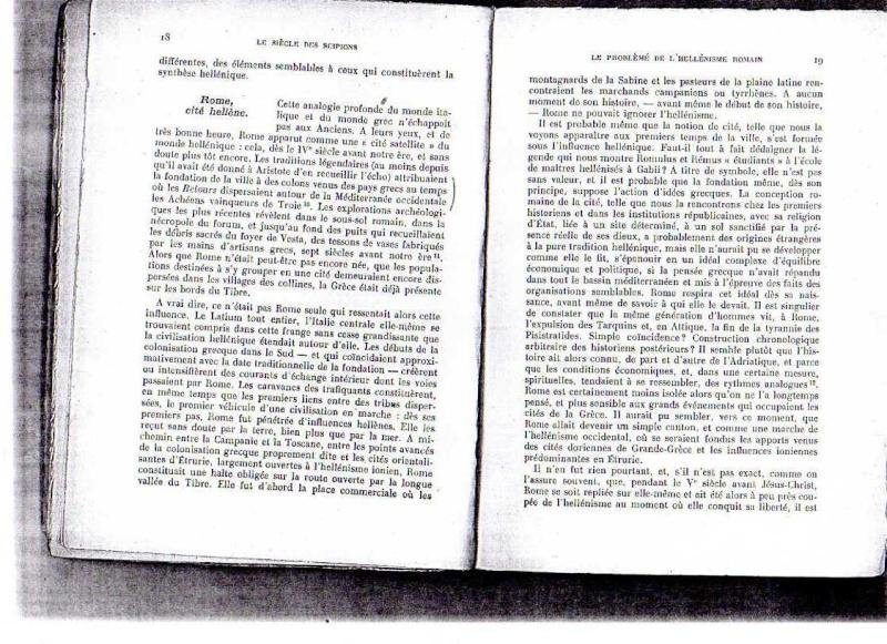 fiches de lilas sur le siecle des scipions + scan du livre 412