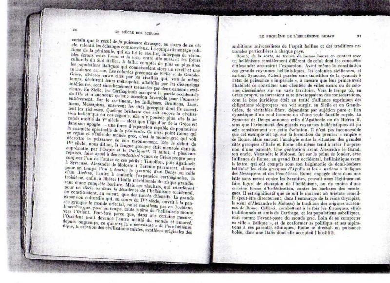 fiches de lilas sur le siecle des scipions + scan du livre 512