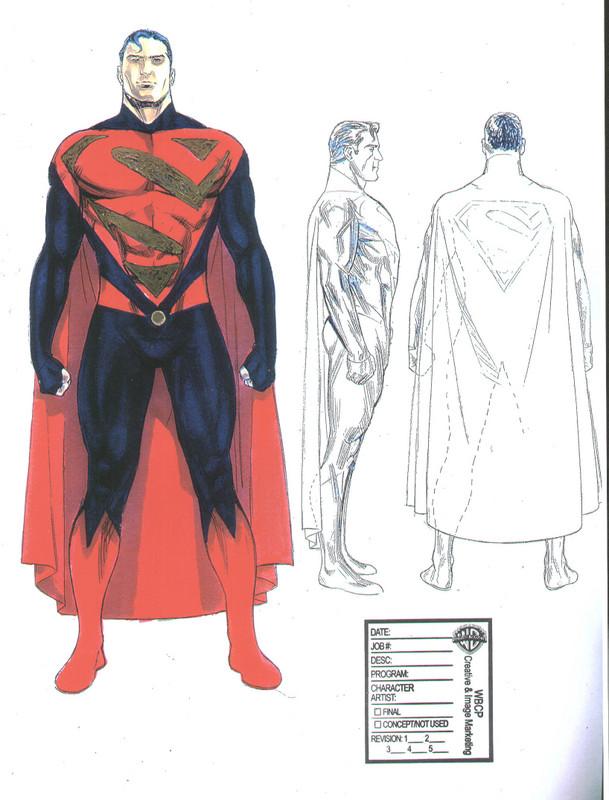 Superman FlyBy - Diseños del Traje de Superman Superm10