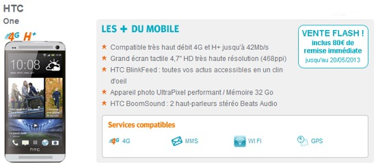 Dernier jour de la vente flash sur le HTC One chez Bouygues Telecom Htc1pr10