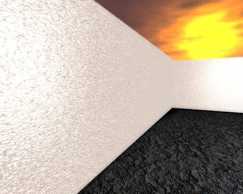 Plaster Wall + Rock Floor = FREE & X10-Ready! Plaste11
