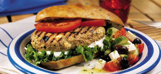Burgers à la grecque 08910