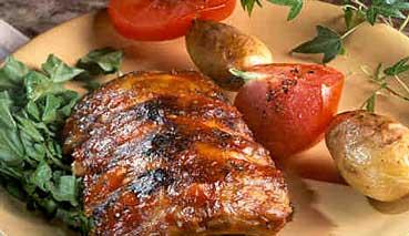 Côtes levées de porc à la provençale 094-co10