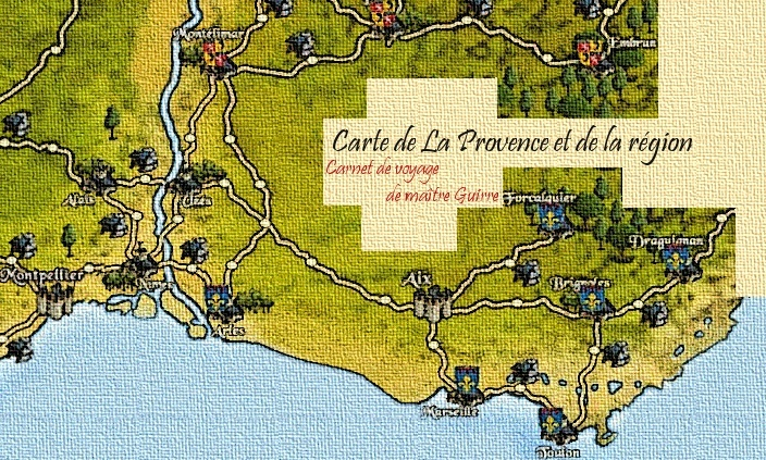 Carte de la Provence Carteg10
