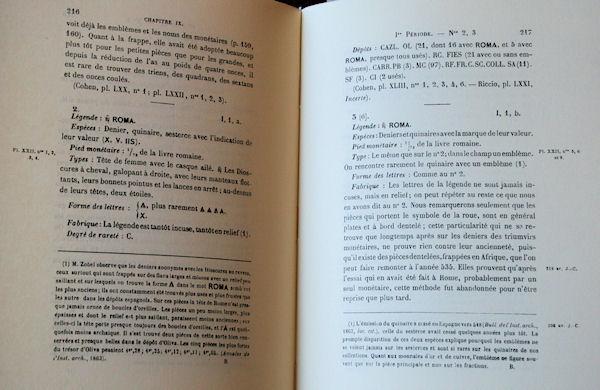 HISTOIRE DE LA MONNAIE ROMAINE (TH. MOMSEN) Texte10