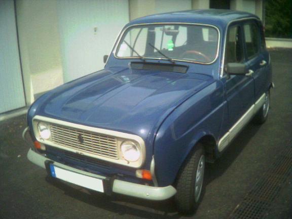 La R4 GTL, c'était ma premère voiture 4lqk310