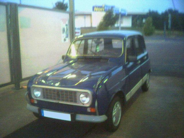 La R4 GTL, c'était ma premère voiture Miss4l10