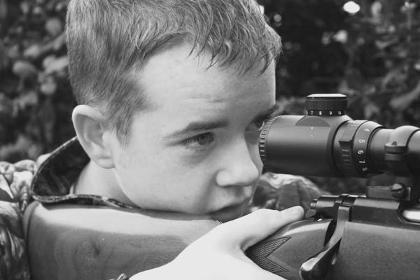 Young lad taking shot Dan10