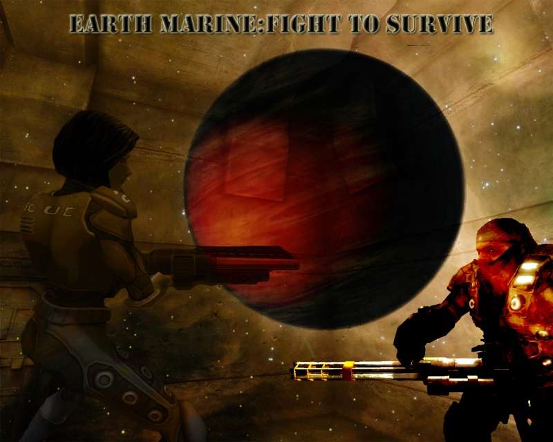 Earth Marine: Fight to survive Backgr10