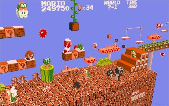 Les bons jeux de plateforme 3D - Page 2 Mario310