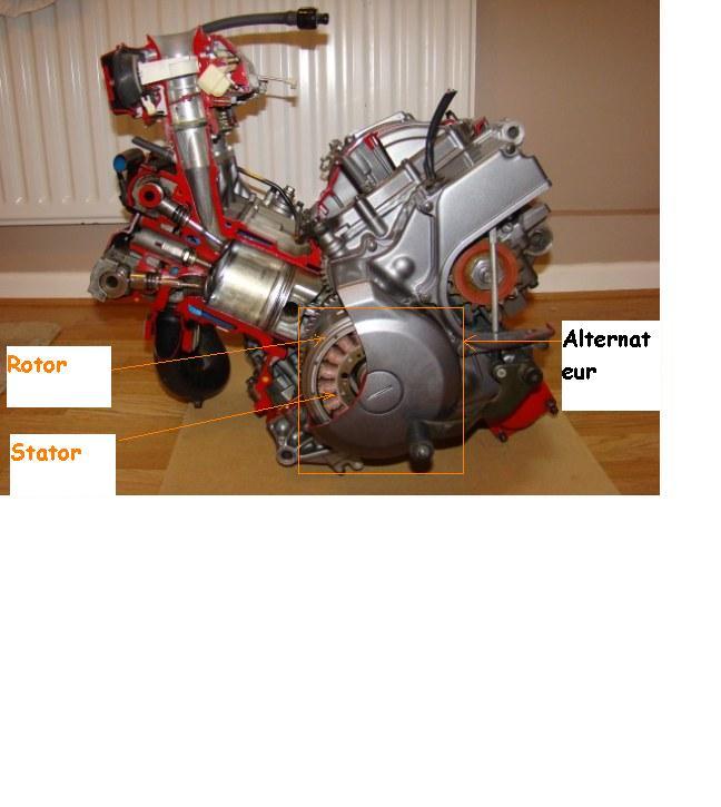regulateur - alternateur Rotor10