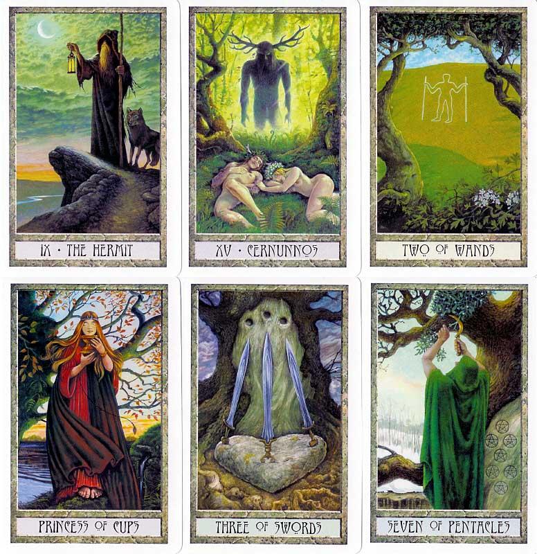 Druidcraft Tarot - Le tarot des druides Druid_11