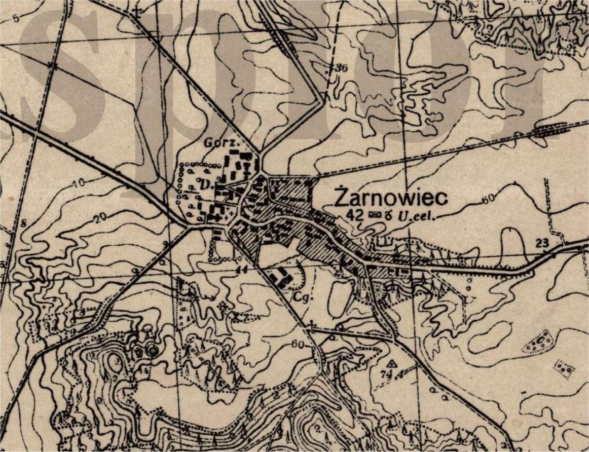1:25,000 Maps of Poland Poland10