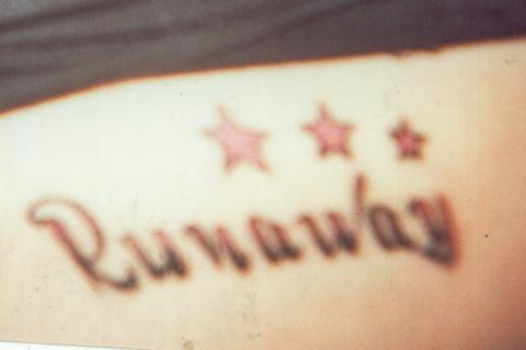 P!nk related tattoos Runawa10