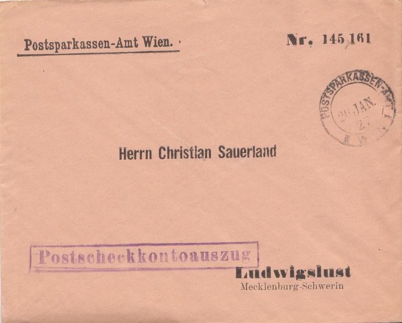 Briefe / Poststücke österreichischer Banken Img13