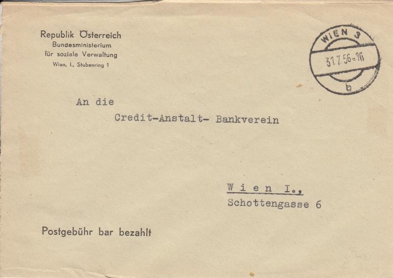 Briefe / Poststücke österreichischer Banken - Seite 2 Img16
