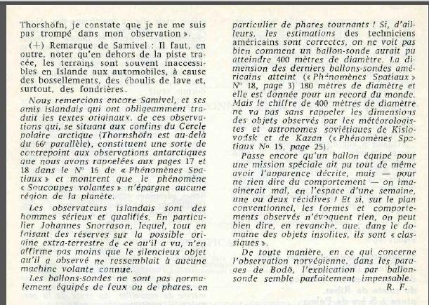 "Islande et Norvège - Revue ""Phénomènes spatiaux"" du GEPA n° 19 - Mars 1969 Island13"
