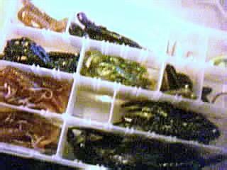 plano box of misc plastics Pictur13