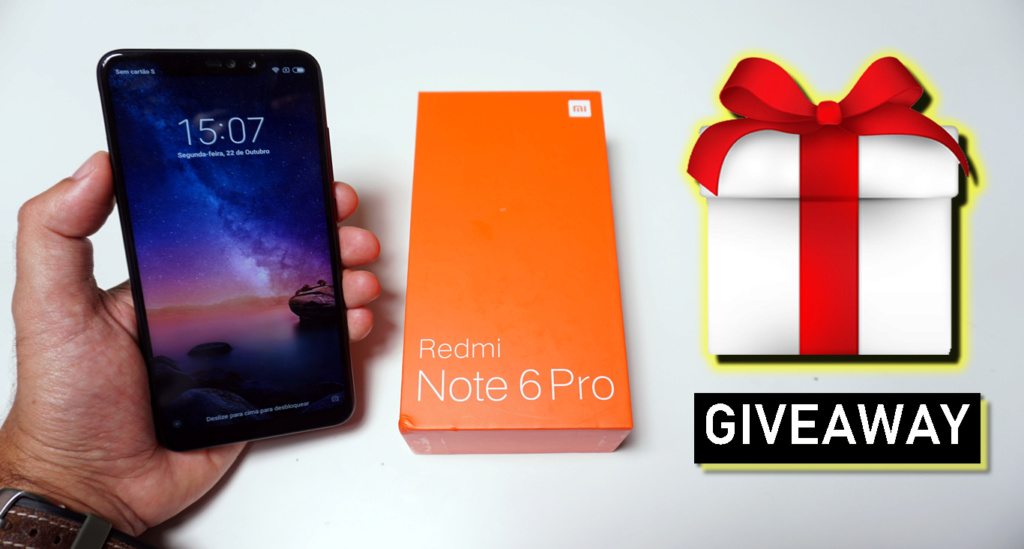 Passatempo 1001Blogs - Ganha o novo Smartphone Xiaomi Redmi Note 6 PRO - Vencedora Ana Santos de Lisboa Capa10