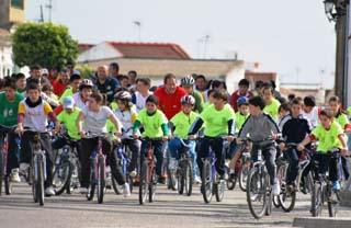 La XXII edición del Día de la Bicicleta marcha sobre ruedas 28-2-11 Olivares 20110110