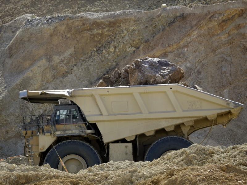 énorme glissement de terrain dans une mine de cuivre sans aucune victime Copper10