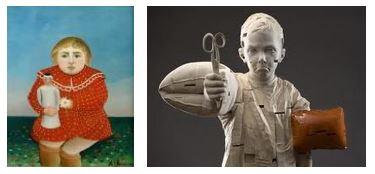 Juxtapositions oulipiennes d'images - Poésie des contrastes Enfant10