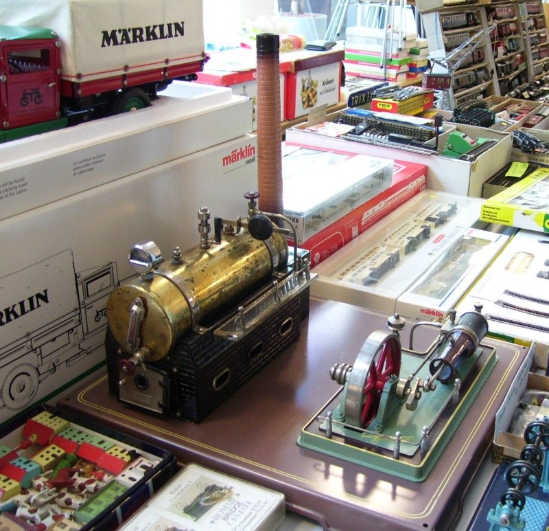 Noch eine Fleischmann-Dampfmaschine 100_7611