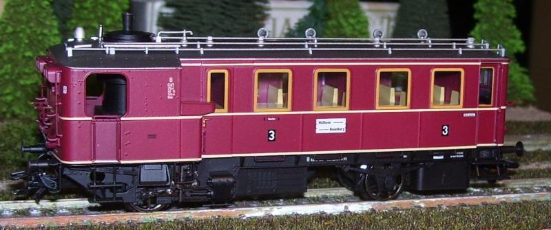 Der Kittel-Dampftriebwagen von TRIX Kitt110