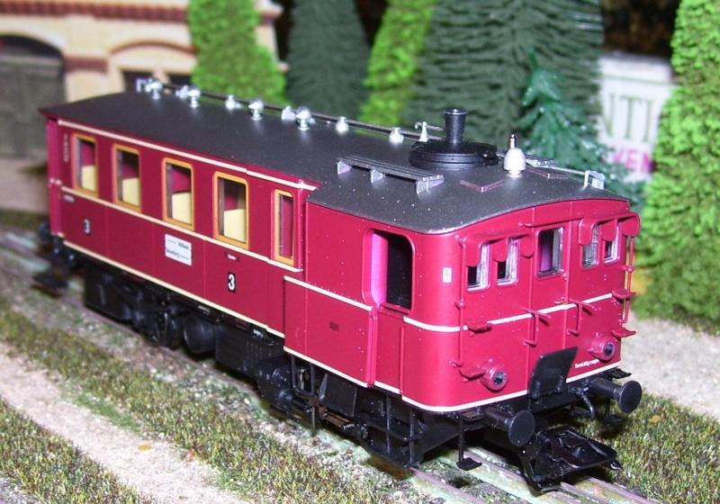 Der Kittel-Dampftriebwagen von TRIX Kitt310