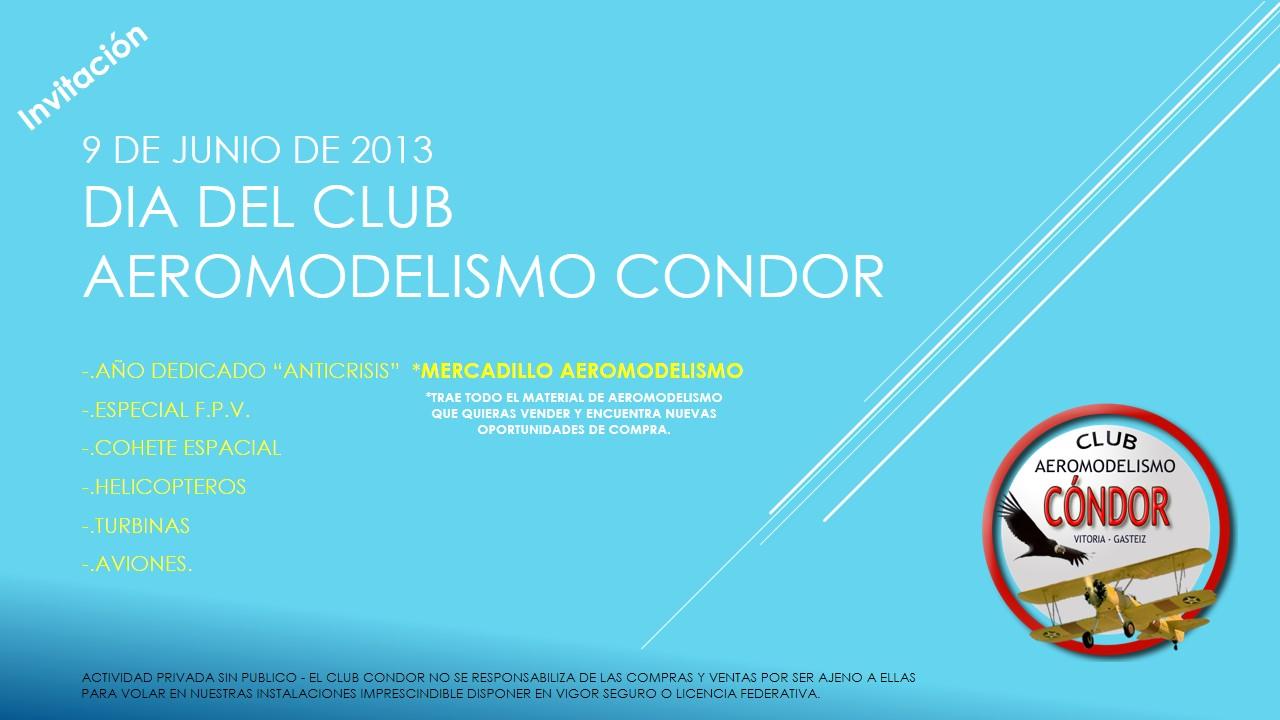 Día del Club 9 de Junio + MERCADILLO Invita10