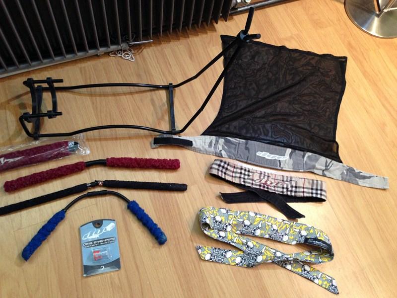 accessoires et vetemens de paint d'1 collegue Img_1325