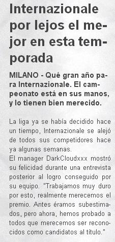 Inter (Abril-Mayo 2013) Liga Italiana Period11