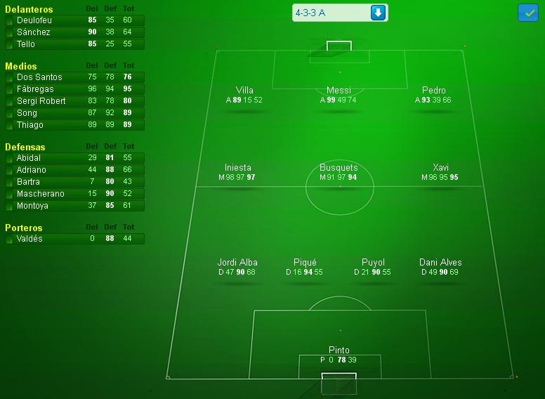 FC Barcelona (Mayo-Junio 2013) Liga BBVA Primer10