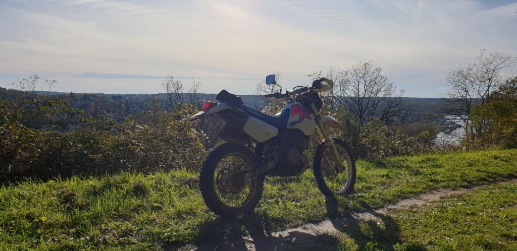 Retour au trail ... leger : 350DR  20191117