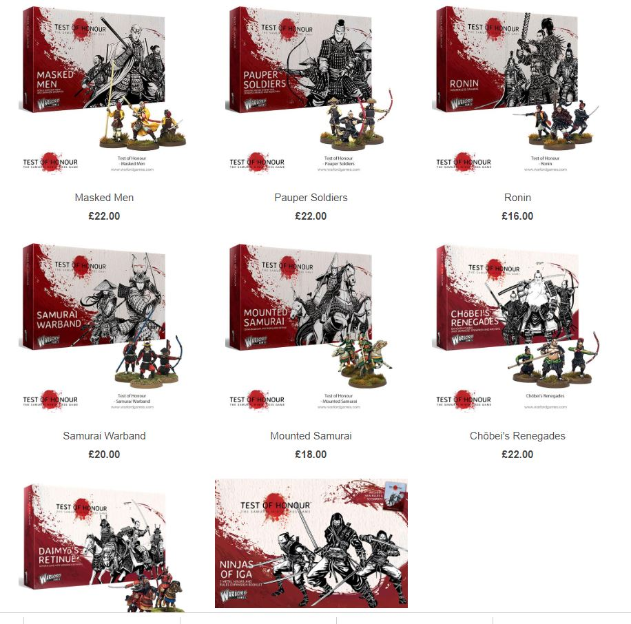 Promo Test of Honour chez Warlord Games (50%) Soldes10