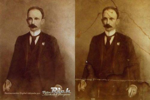 Sale a la luz foto inédita de José Martí Jm10
