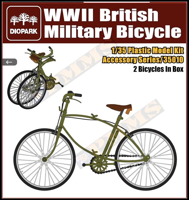Bicycles 1:35th Scale.  60175710