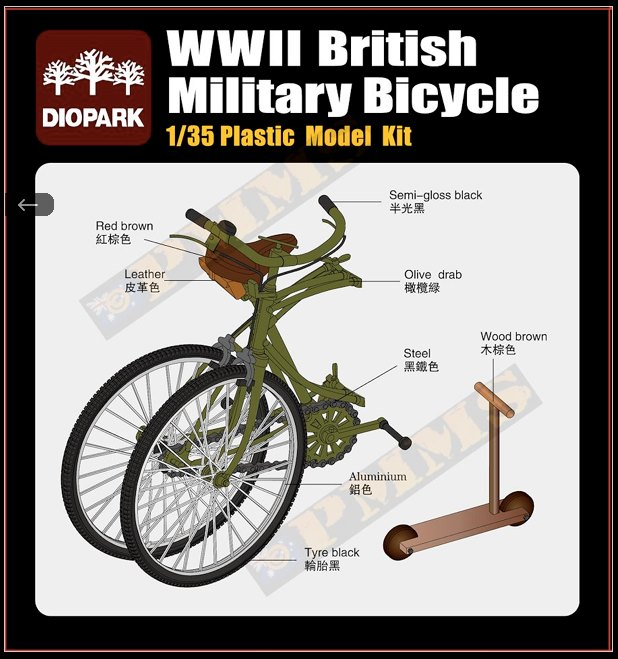 Bicycles 1:35th Scale.  92268210