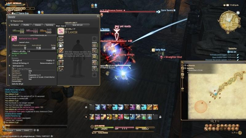 A Realm Reborn: FF XIV - Beta Phase 3 Screencaps Ffxiv_60