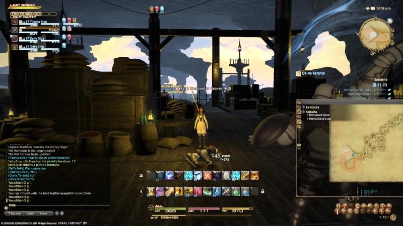 A Realm Reborn: FF XIV - Beta Phase 3 Screencaps Ffxiv_61